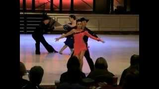 clive stevens and christy kam pro pro cha cha at ucwdc worlds 2014