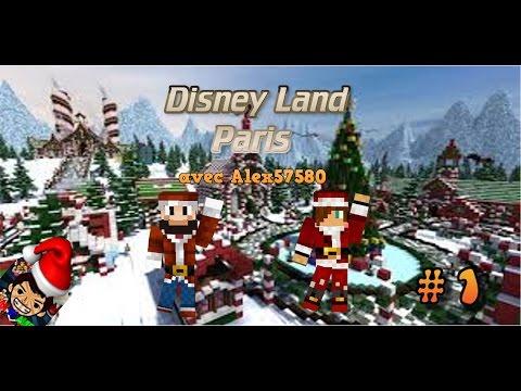 Visite de Disney land paris PC\   #1   \Le village de noël !