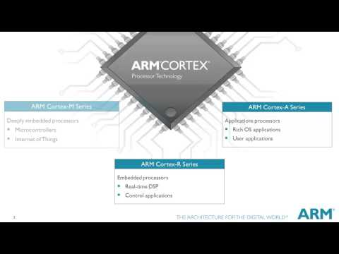 This video gives you a brief introduction of ARM and the Cortex-M family. It then tells you about the series of short technical tutorial videos about the Cortex-M key features that are available in this series.