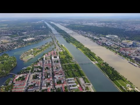 Vienna, Austria: aerial footage of a wonderful European city