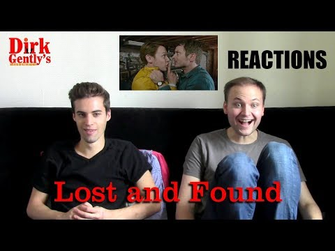 "Dirk Gently's Holistic Detective Agency 1x02 ""Lost and Found"" REACTIONS"