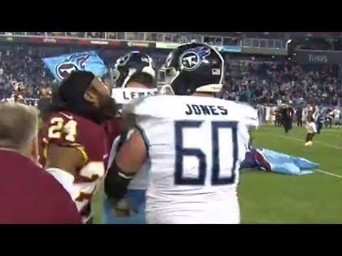 Josh Norman Fights Taylor Lewan After Titans vs Redskins