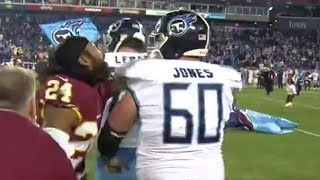 Josh Norman Fights Taylor Lewan After Titans vs Redskins