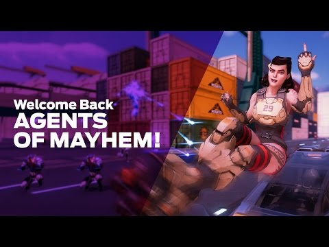Welcome Back, Agents of Mayhem!