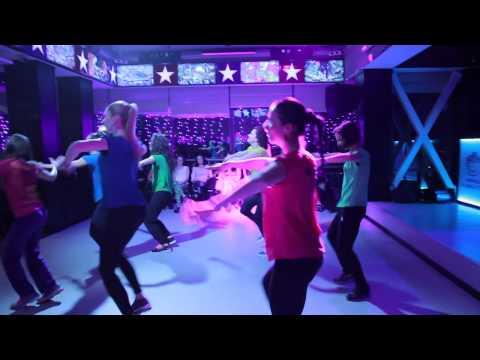 Виступ тренерів Manhattan fitness club та Юлії Коваленко