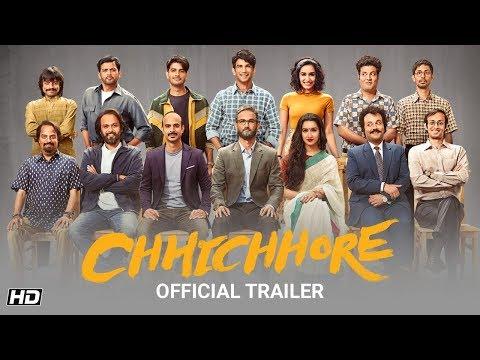 Chhichhore | Official Trailer | Nitesh Tiwari | Sushant | Shraddha | Sajid Nadiadwala | 6th Sept