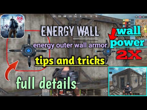 #energy_outer_wall_armor_use ( energy wall ) last day rules survival  // walking gamer