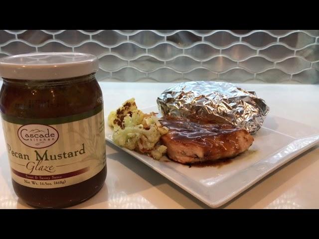 Food Review: Cascade Kitchen's Pecan Mustard Glaze — YUM!