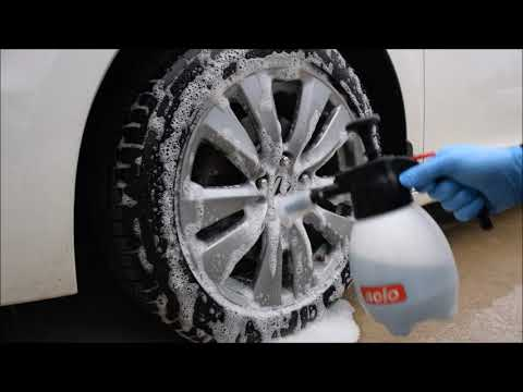 Cleaning Wheels With Dish Soap?