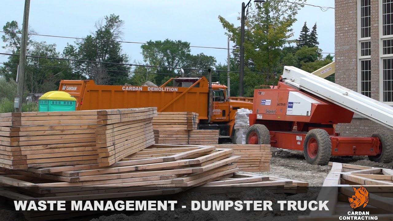 Cardan Contracting Waste Management 30 Sec Promo Sanker Media