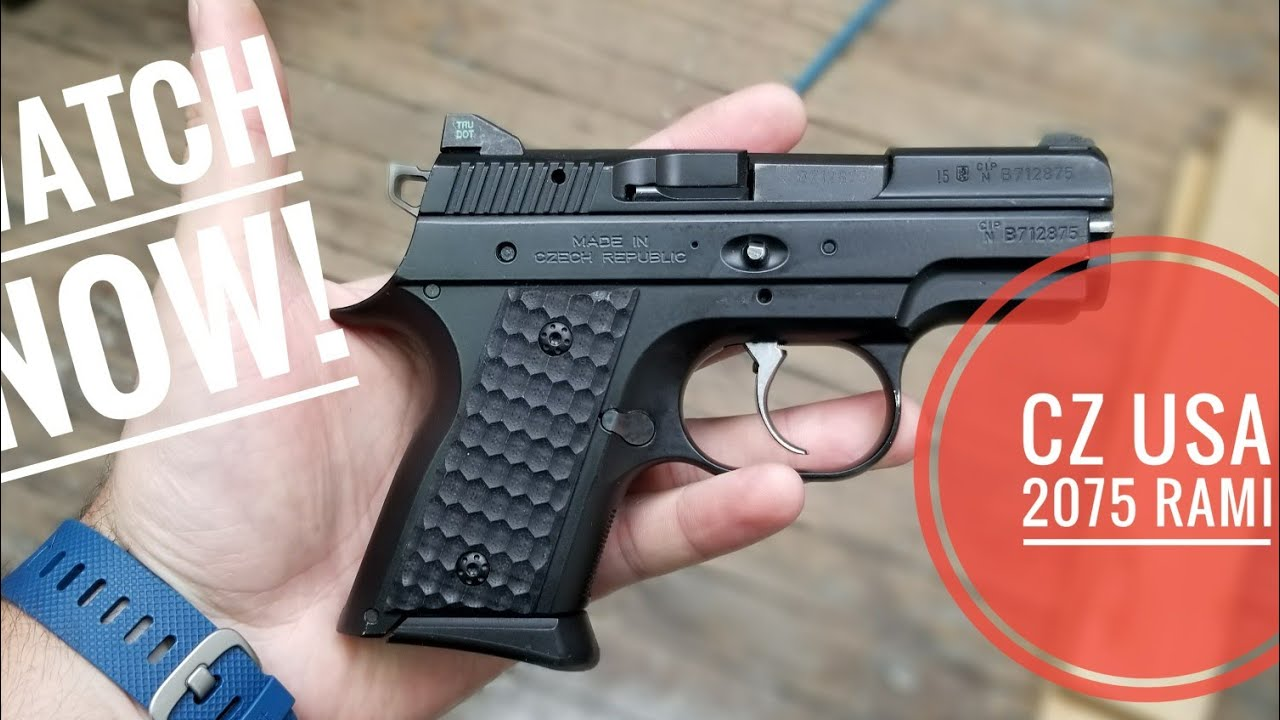 CZ 2075 Rami Safety Model - Cajun Gun Works Upgraded