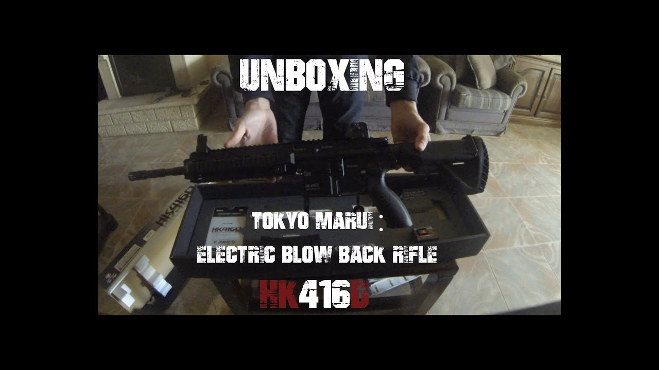 HK 416D Tokyo Marui (Unboxing)
