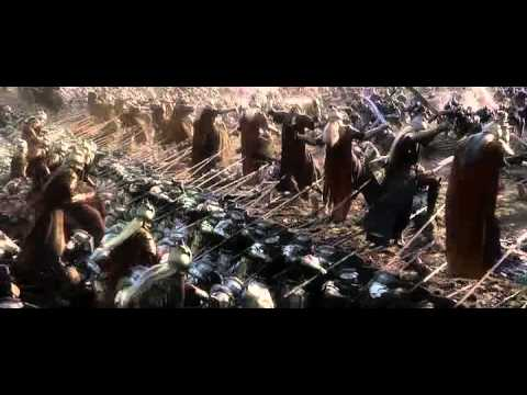The Hobbit - The epic battle begins