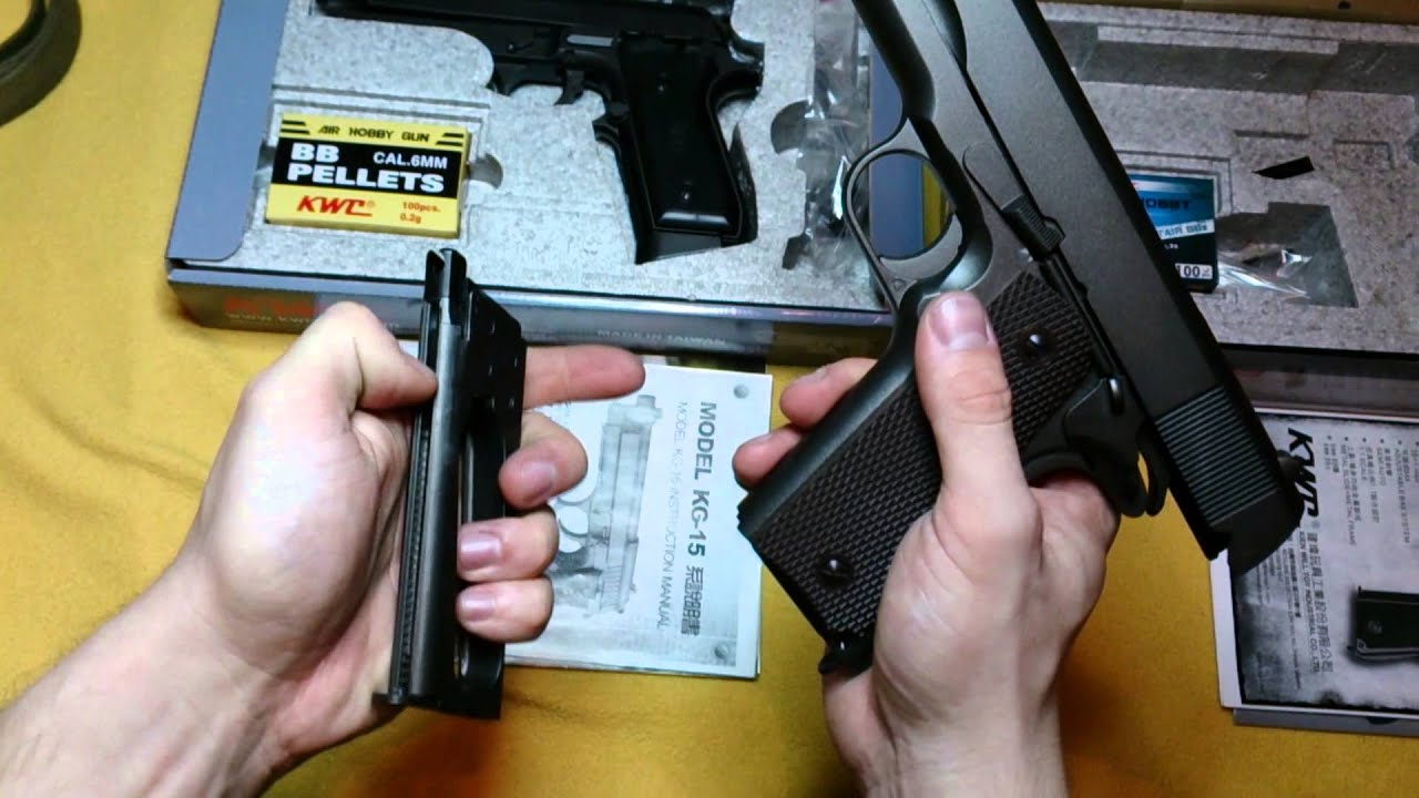 small resolution of received order airsoft uncompany kwc taurus pt99 and kwc 1911