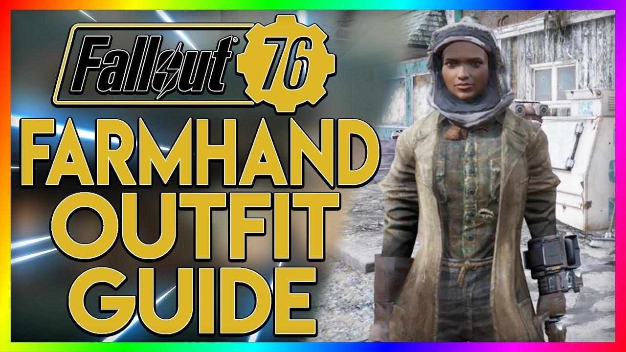 FALLOUT 76 Rare Outfit Guide - Farmhand Clothes