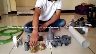 Penjelasan Komponen Pompa Air Tanpa Listrik