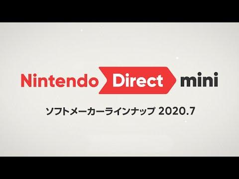 ニンテンドーダイレクトミニ まとめ 【Nintendo Direct mini ソフトメーカーラインナップ 2020.7】