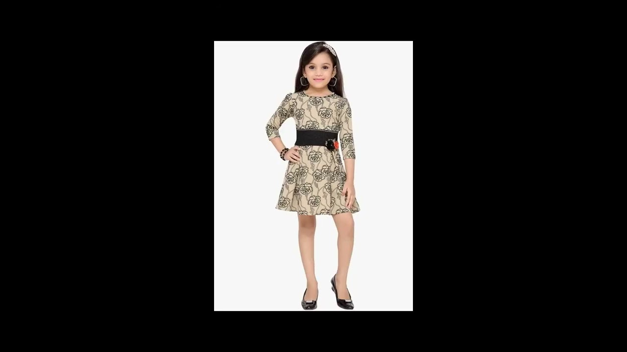 9d815cbc8 New collection of baby girl dresses  Kids latest Western wear design ...
