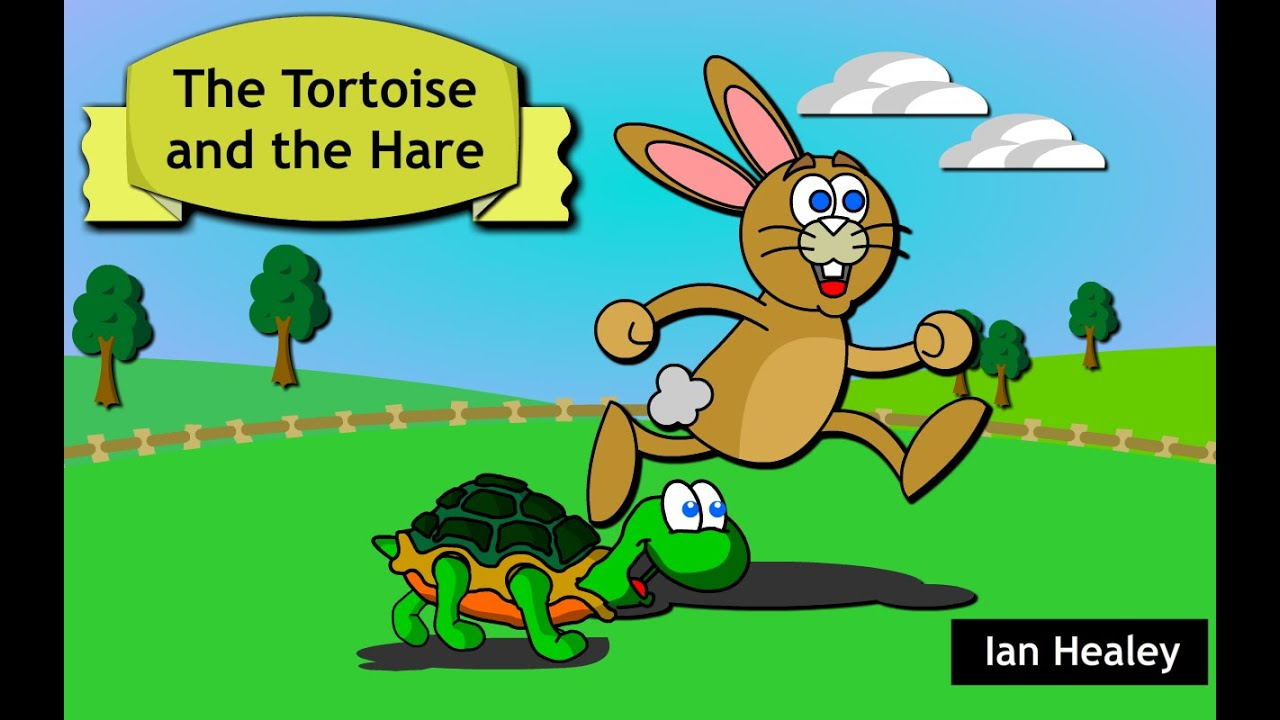The Tortoise and the Hare: Story Time for Children - YouTube