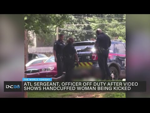 Black Judas APD Cops FIRED After APD Reviews Video of Handcuffed Woman Being Kicked