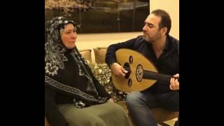 وائل جسار يثير دموع والدته بفيديو مؤثر