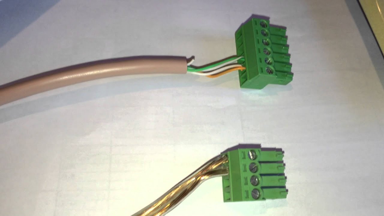 hid rkl55 connection to a mercury mr51e via osdp [ 1280 x 720 Pixel ]