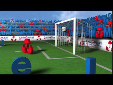 Billboard Crédit Mutuel / Coupe de la ligue