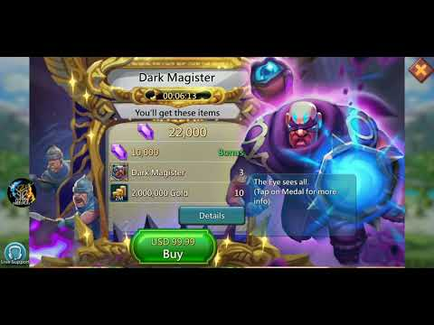 Lords Mobile - Most OP Hero To Date...WTF IGG
