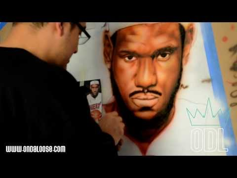 Lebron James Mural By ON DA LOOSE [User Submitted]