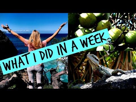 WHAT I DID IN A WEEK / My first week in AUSTRALIA - australia vlog #2