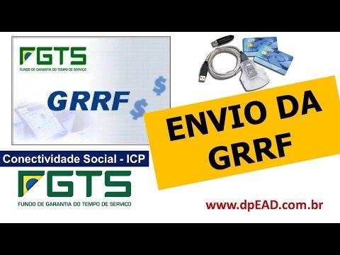Envio da GRRF - Conectividade Social