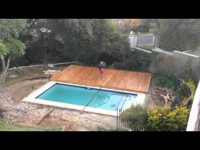 Amazing Centurion D10 Automating Pool Cover Youtube
