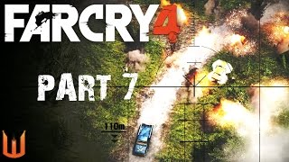 Far Cry 4 PC: Mortars Are Freaking Awesome! - Part 7 Gameplay Walkthrough