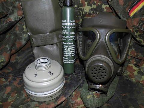 Deutsche M65 Z Gasmaske Review (ger.) [rework][HD]