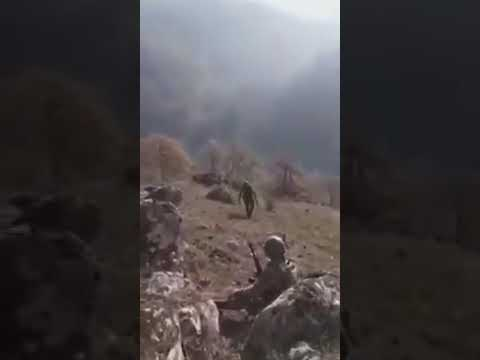 Кадры с Линии Фронта Война Карабах Перестрелка Азербайджан Армения! - Canli Doyuş Qarabag Muharbesi!