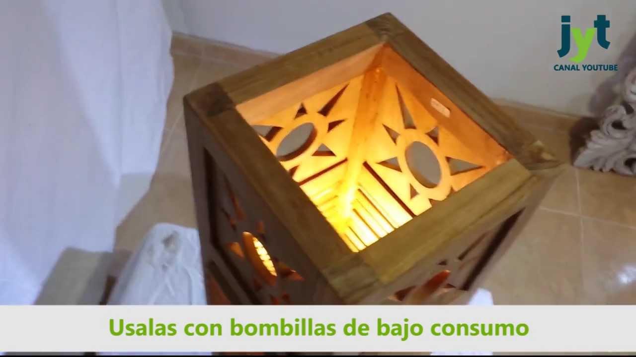 L mpara teka para exterior adara tienda online mueble - Lamparas de pared exterior ...