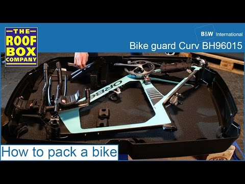 B W Bike Guard Curv How To Pack A Bike Youtube