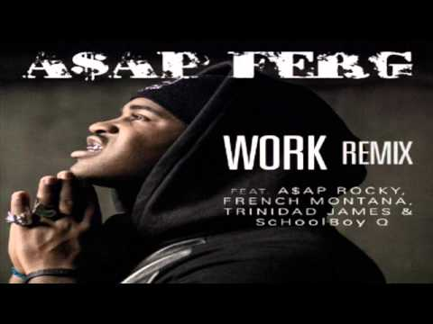 ASAP Ferg - Work REMIX