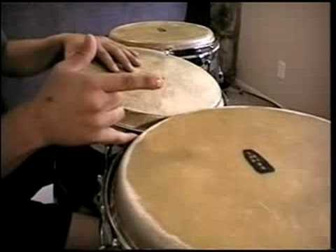 Guaguanco on two congas - for beginners