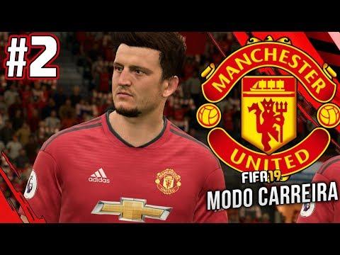DEFESAS CENTRAIS COMPRADOS! - FIFA 19 Manchester United Modo Carreira #2
