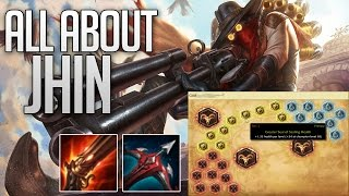 Everything you need to know about Jhin ( Runes / masteries / Build )