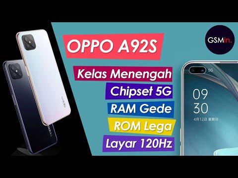 MANTAP NIH!!!   OPPO A92S Segera Meluncur dengan Layar 120Hz   Bocoran harga & Spesifikasi indonesia.