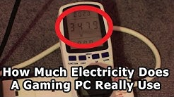 How Much Electricity Does A Gaming PC Use?