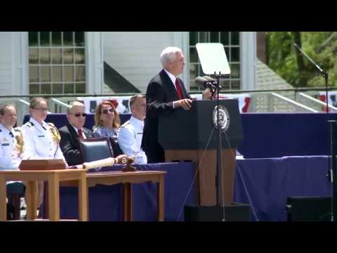 Vice President Mike Pence's 2018 Commencement Address to the United States Coast Guard Academy