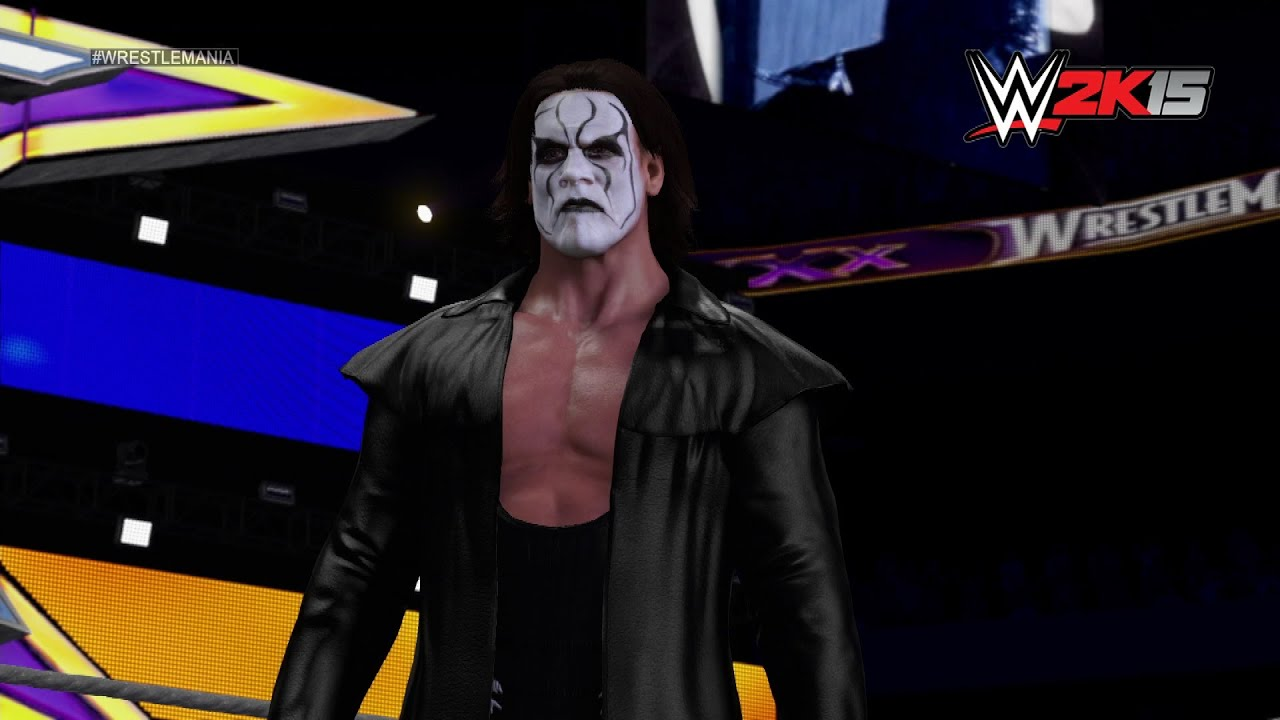 Sting's WWE 2K15 Entrance: NEXT GEN - YouTube