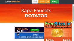 XAPO FAUCET ROTATOR 2018 (COINPOT ALL FAUCET TOGATHER)hindi