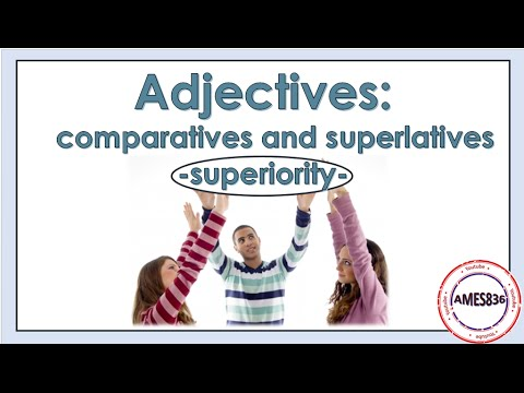 Comparatives and Superlatives, Forms of Adjectives Video Lesson