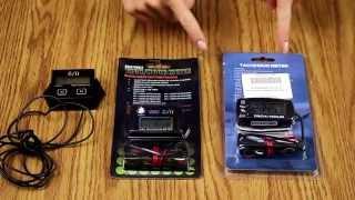 Тахометр со сменной батарейкой