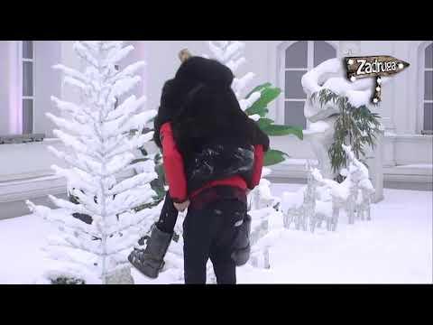 Zadruga 2 - Marko i Luna pokazuju romantičnost na snegu - 24.01.2019.