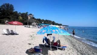 Пляж в Пантелеймоносе (Греция, Пиерия)(Читайте подробный отзыв об отеле Afroditi Hotel 2* (Греция, Пиерия, Пантелеймонос): http://otzovik.com/review_2300454.html., 2015-08-30T13:28:40.000Z)